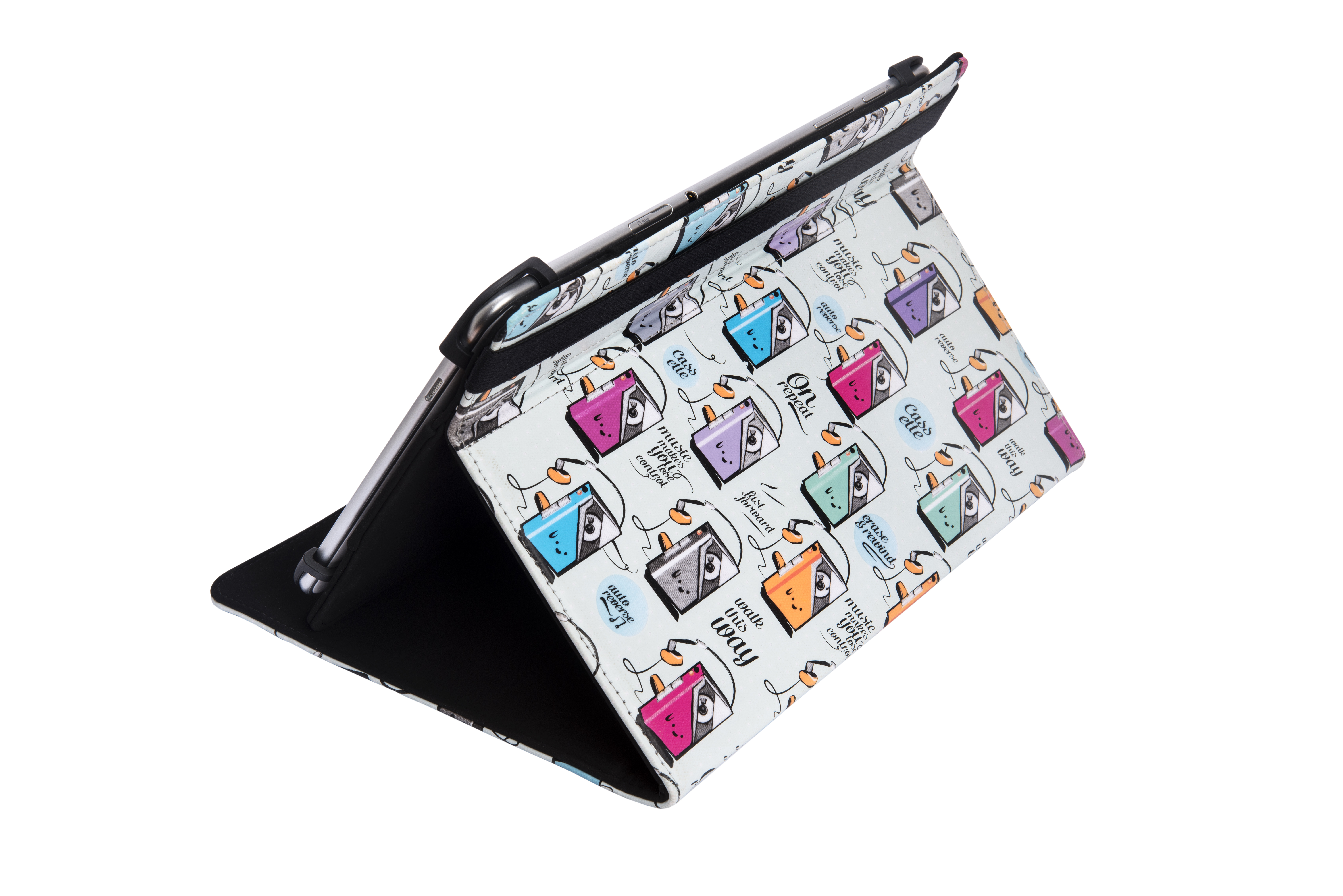 Strepito Funda Tablet Silver HT Universal Stampcase 9