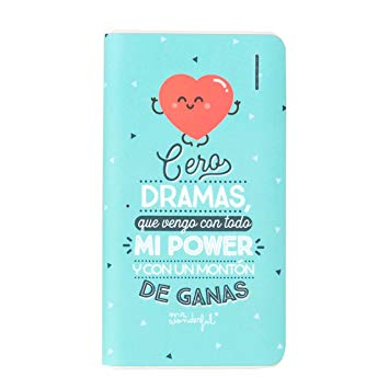 Strepito Bateria Power Bank Mr Wonderful MRPWB014 6.000 Dramas